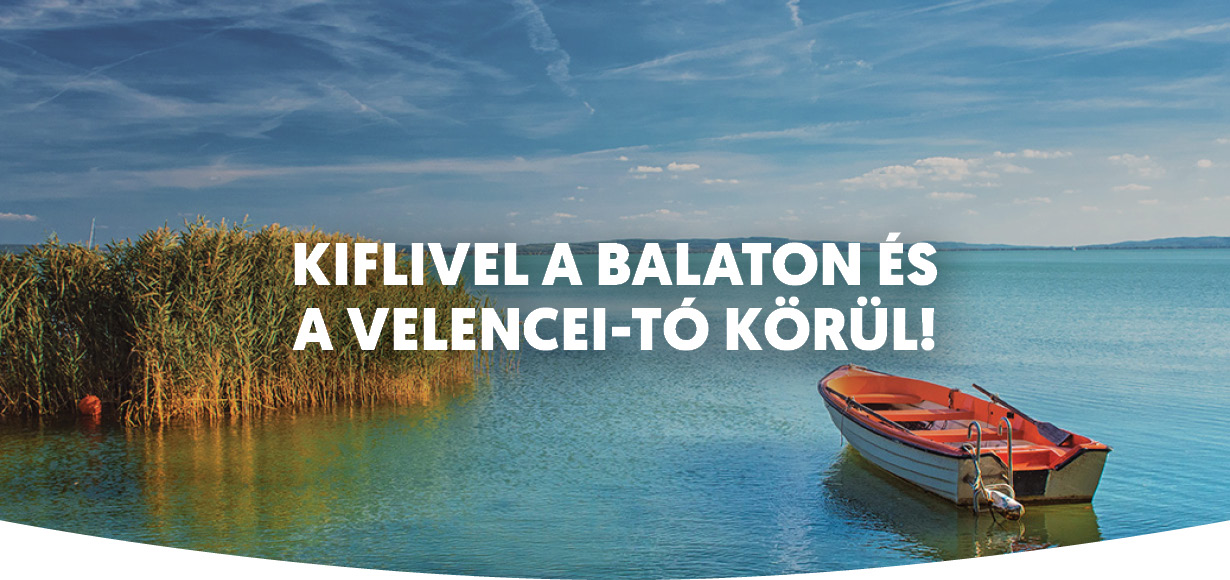 Kifli a Balaton és a Velencei-tó körül